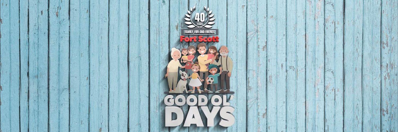 Fort Scott's Good Ol' Days logo.